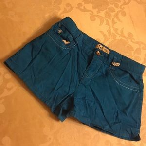 Lei Sz 16Girls Blue Shorts